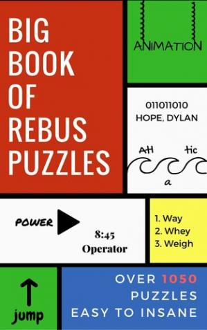 Kitabın üzlüyü Big Book of Rebus Puzzles