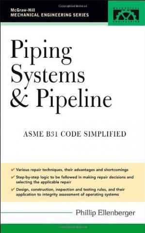 Copertina Piping Systems Pipeline ASME Code Simplified
