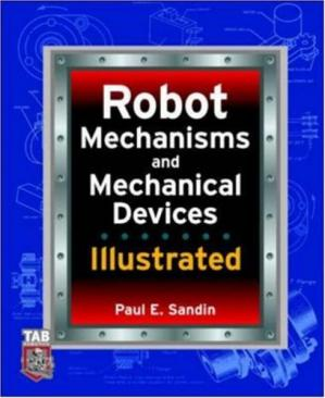 Buchdeckel Robot mechanisms and mechanical devices illustrated
