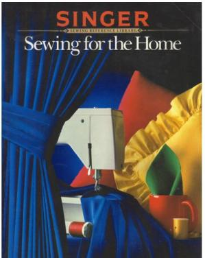 A capa do livro Sewing for the home
