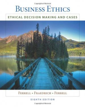 Copertina Business Ethics: Ethical Decision Making & Cases