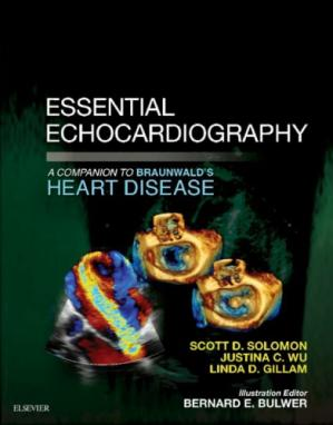 Copertina Essential Echocardiography: A Companion to Braunwald's Heart Disease