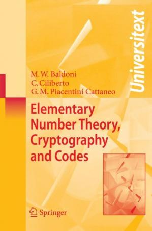 Book cover Elementary number theory, cryptography and codes