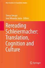 Copertina Rereading Schleiermacher: Translation, Cognition and Culture