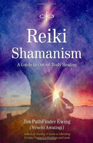 A capa do livro Reiki Shamanism: A Guide to Out-of-Body Healing