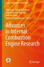 Book cover  Advances in Internal Combustion Engine Research