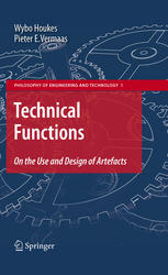 Couverture du livre Technical Functions: On the Use and Design of Artefacts