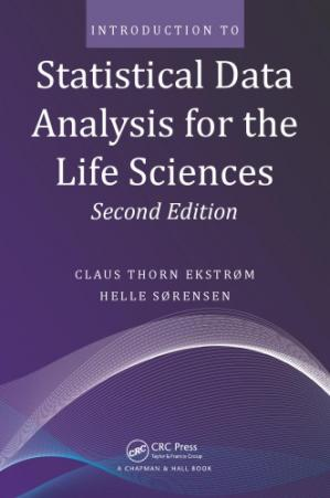 Korice knjige Introduction to Statistical Data Analysis for the Life Sciences