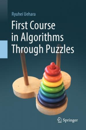 Book cover First Course in Algorithms Through Puzzles