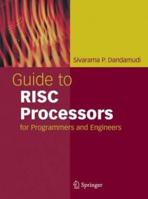 Kitabın üzlüyü Guide to RISC Processors: For Programmers and Engineers