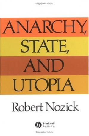 Book cover Anarchy State and Utopia