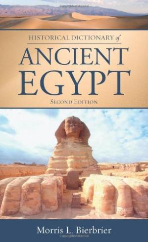 Copertina Historical Dictionary of Ancient Egypt