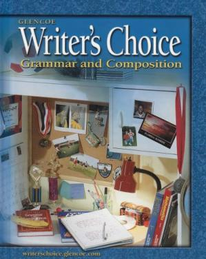 Book cover Writer's Choice: Grammar and Composition, Grade 6, Student Edition