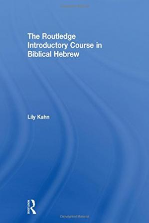Okładka książki The Routledge Introductory Course in Biblical Hebrew