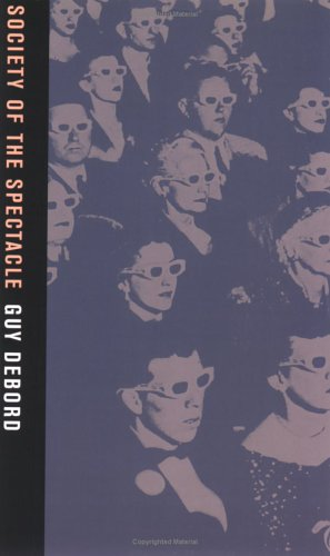 Book cover Society of the Spectacle