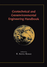 Okładka książki Geotechnical and Geoenvironmental Engineering Handbook