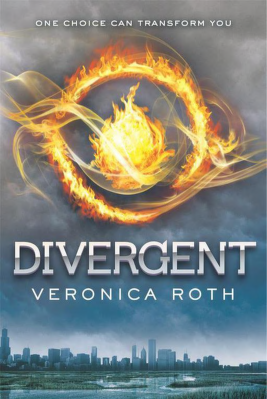 Book cover 01. Divergent Veronica Roth