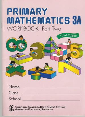 Book cover Singapore Math 3A Workbook Part 2