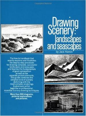 Buchdeckel Drawing Scenery: Landscapes and Seascapes