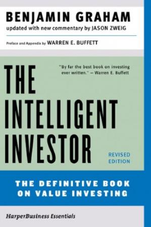 A capa do livro The Intelligent Investor: A Book of Practical Counsel