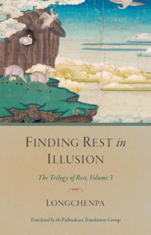 Book cover Finding Rest in Illusion: The Trilogy of Rest, Volume 3