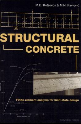 Book cover Structural Concrete: Finite-element Analysis for Limit-state Design