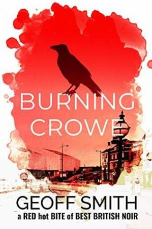 A capa do livro Burning Crowe