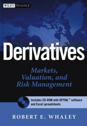 Book cover Derivatives: Markets, Valuation, and Risk Management