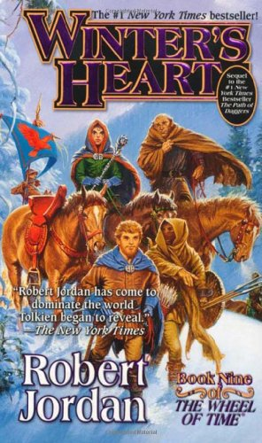 Portada del libro Winter's Heart: Book Nine of 'The Wheel of Time'