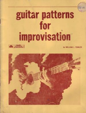 Обложка книги Guitar Patterns For Improvisation