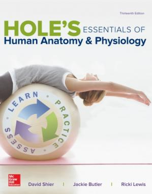 Book cover Hole's essentials of human anatomy & physiology