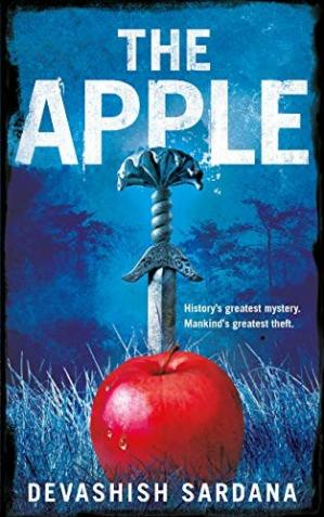 Book cover The Apple: History's Greatest Mystery. Mankind's Greatest Theft.