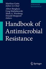 غلاف الكتاب Handbook of Antimicrobial Resistance
