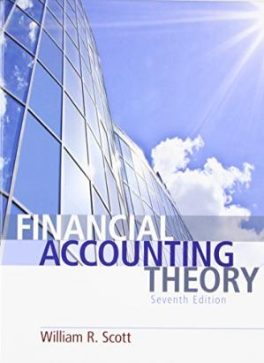 Couverture du livre Financial Accounting Theory (7th Edition)