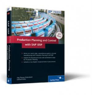 Copertina Production Planning and Control with SAP ERP