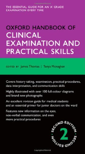 Book cover Oxford Handbook of Clinical Examination and Practical Skills