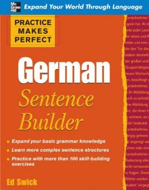 Copertina German Sentence Builder