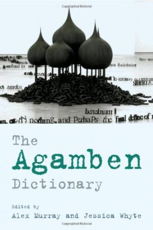 Buchdeckel The Agamben dictionary
