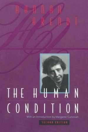 Buchdeckel The Human Condition