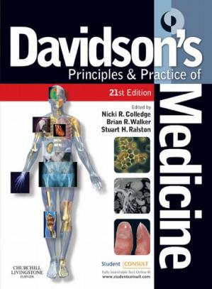 Book cover Davidson's Principles and Practice of Medicine