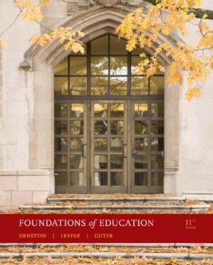Book cover Foundations of Education 11 th ed