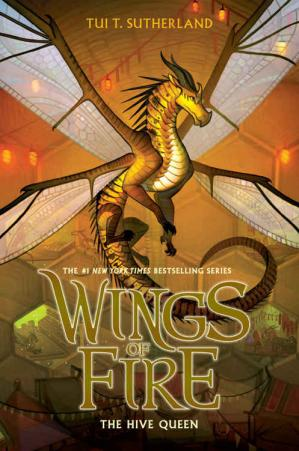 Copertina The Hive Queen (Wings of Fire, Book 12)