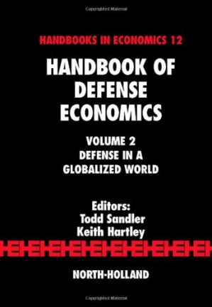 Portada del libro Handbook of Defense Economics, Vol. 2: Defense in a Globalized World