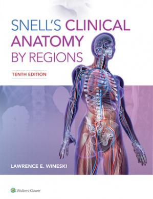 Обкладинка книги Snell's Clinical Anatomy by Regions