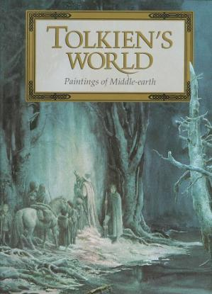 Buchdeckel Tolkien's World : Paintings of Middle-Earth