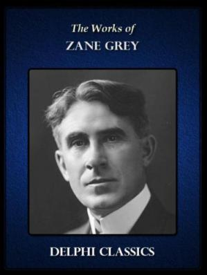 Korice knjige The Works of Zane Grey