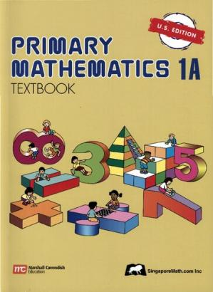 表紙 Singapore Primary Mathematics 1A Textbook