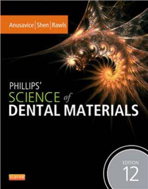 Book cover Phillips' Science of Dental Materials