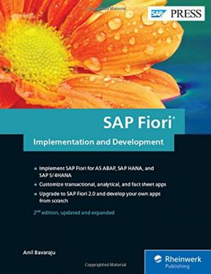 Portada del libro SAP Fiori Implementation and Development