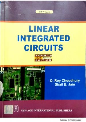 Bìa sách linear integrated circuit applications